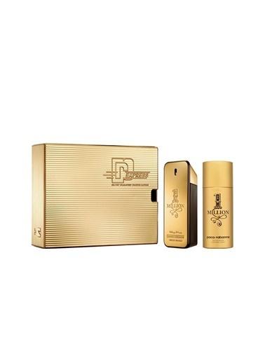 Paco Rabanne One Million EDT 100 ml + Deodorant 150 ml Erkek Parfüm Seti Renksiz